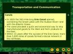 transportation and communication26
