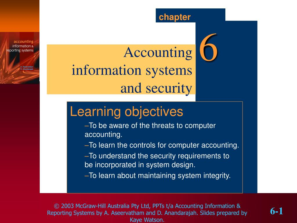 reducing the threat levels for accounting information systems