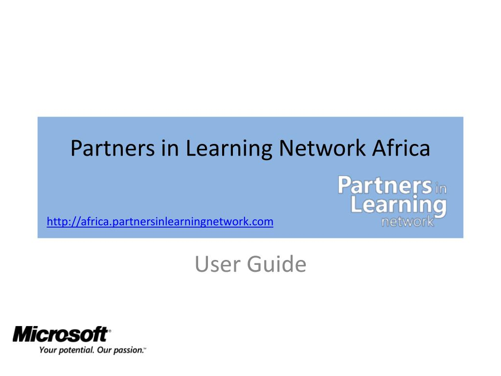 partners in learning network africa