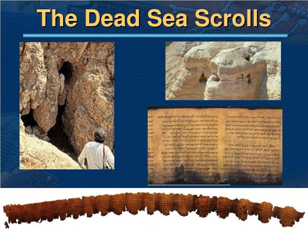 the dead sea scrolls l.