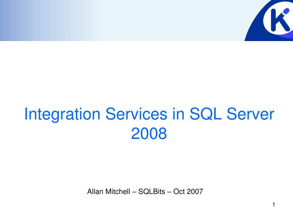 integration services in sql server 2008 l.
