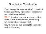simulation conclusion