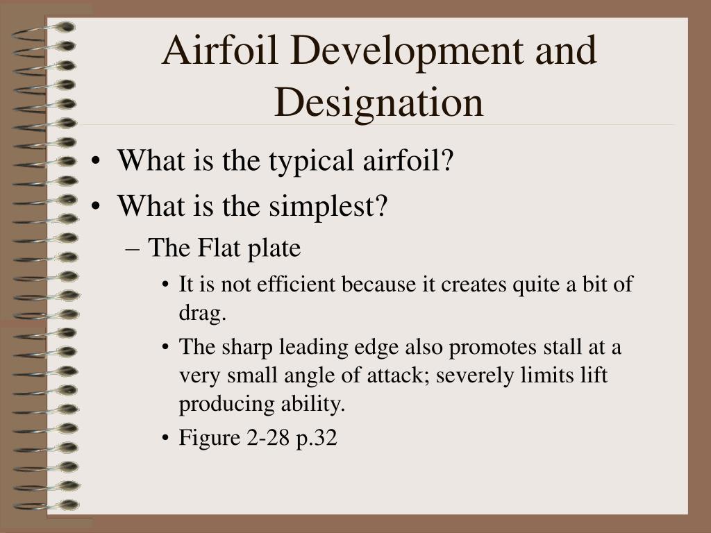 Airfoil Development and Designation