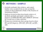 methods sample
