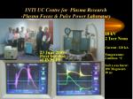 inti uc centre for plasma research plasma focus pulse power laboratory