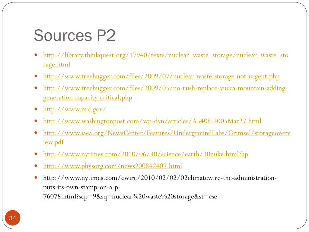 Sources P2