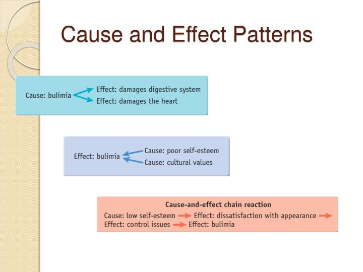 Cause and Effect Patterns