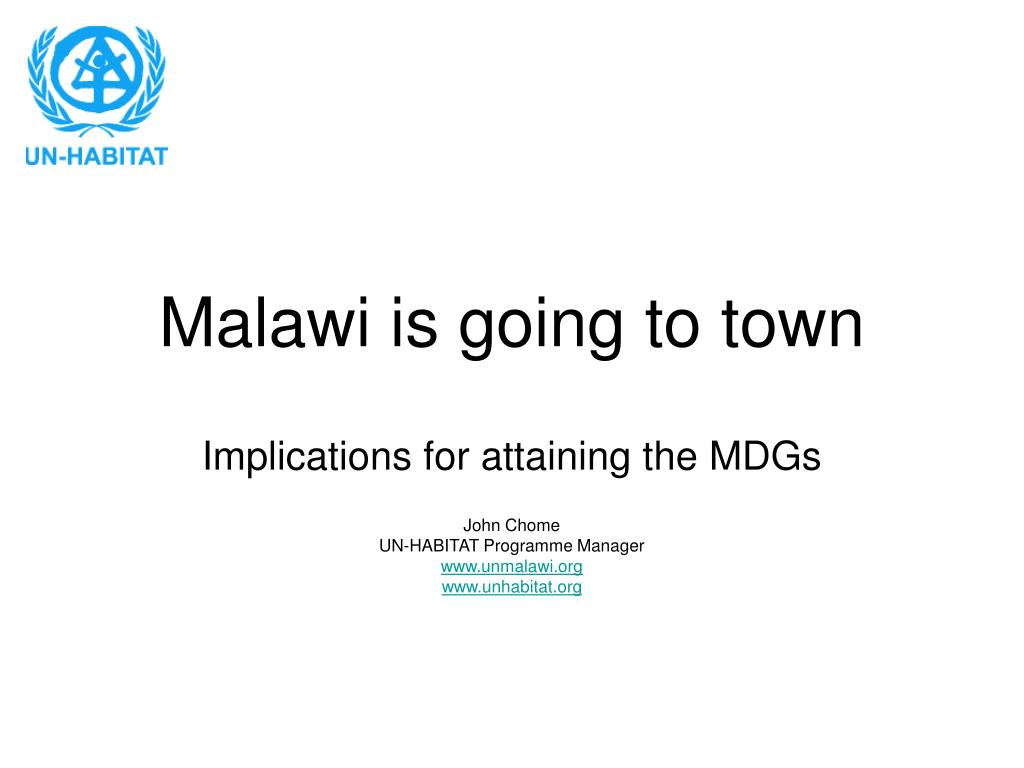 malawi is going to town l.