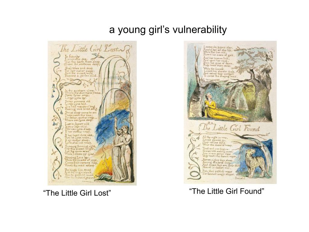 a young girl's vulnerability