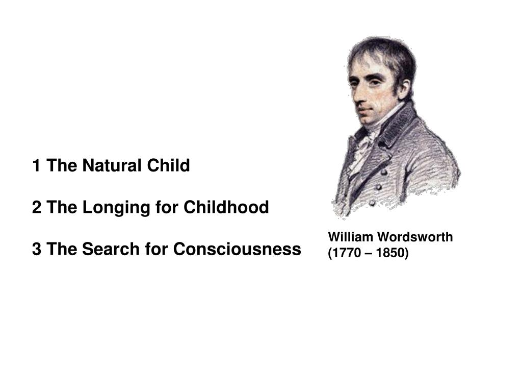 1 The Natural Child