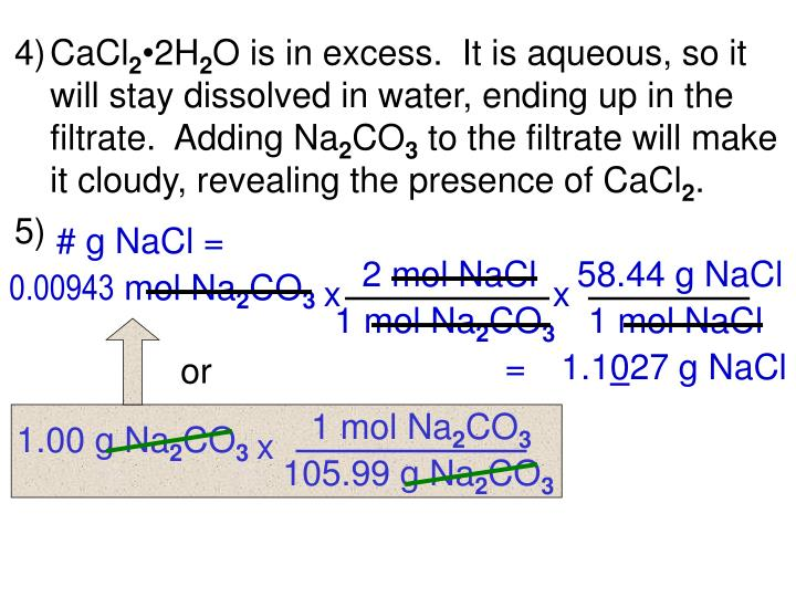 58.44 g NaCl