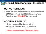 ground transportation insurance