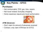 key points gtcc
