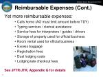 reimbursable expenses cont37