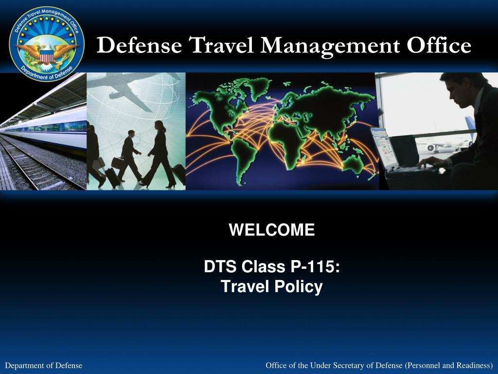welcome dts class p 115 travel policy l.