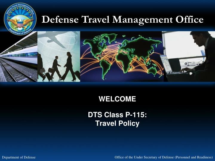 welcome dts class p 115 travel policy n.