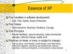 essence of xp