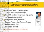 extreme programming xp