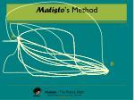 matisto s method