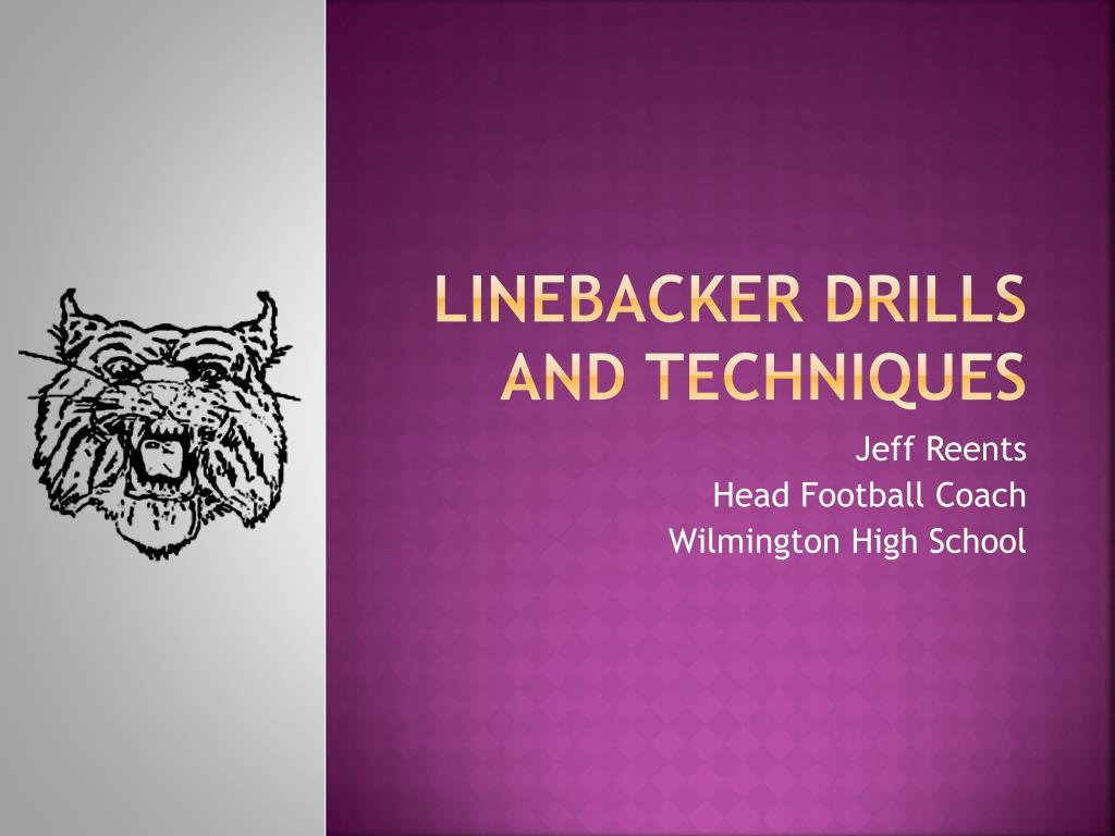 linebacker drills and techniques l.