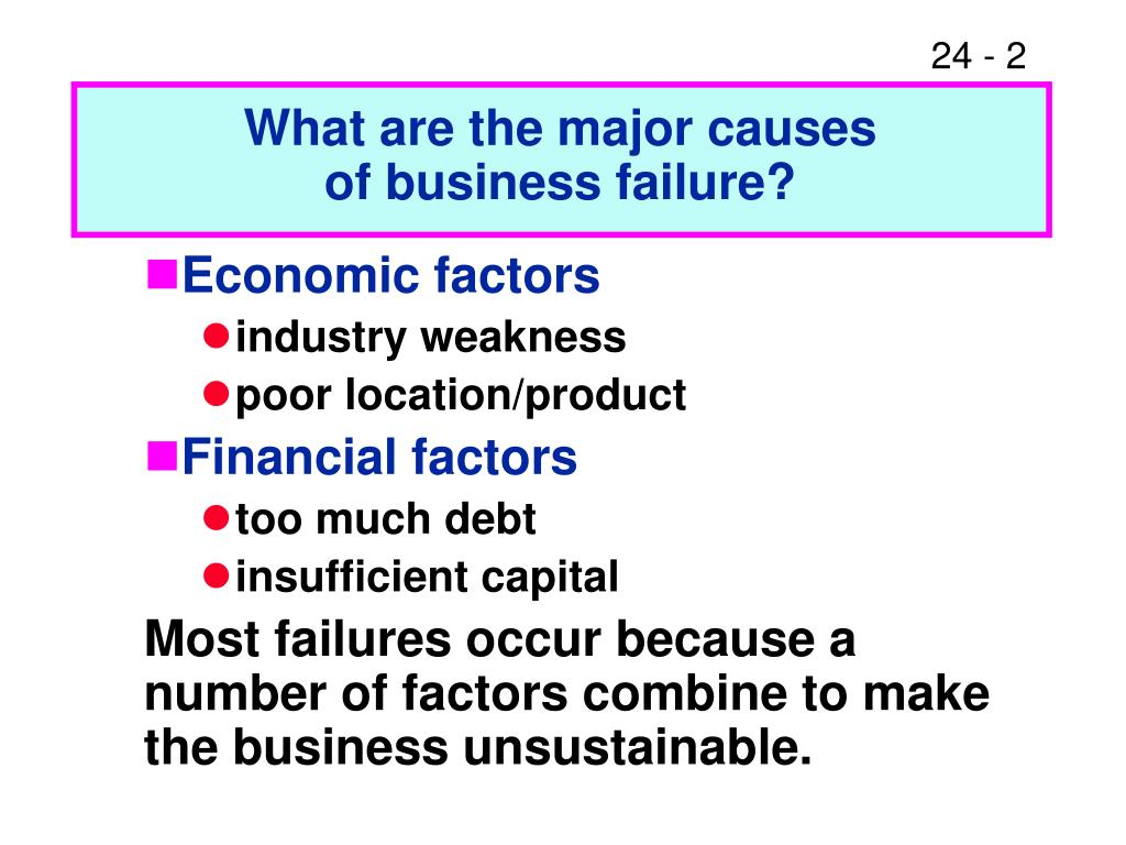 What are the major causes
