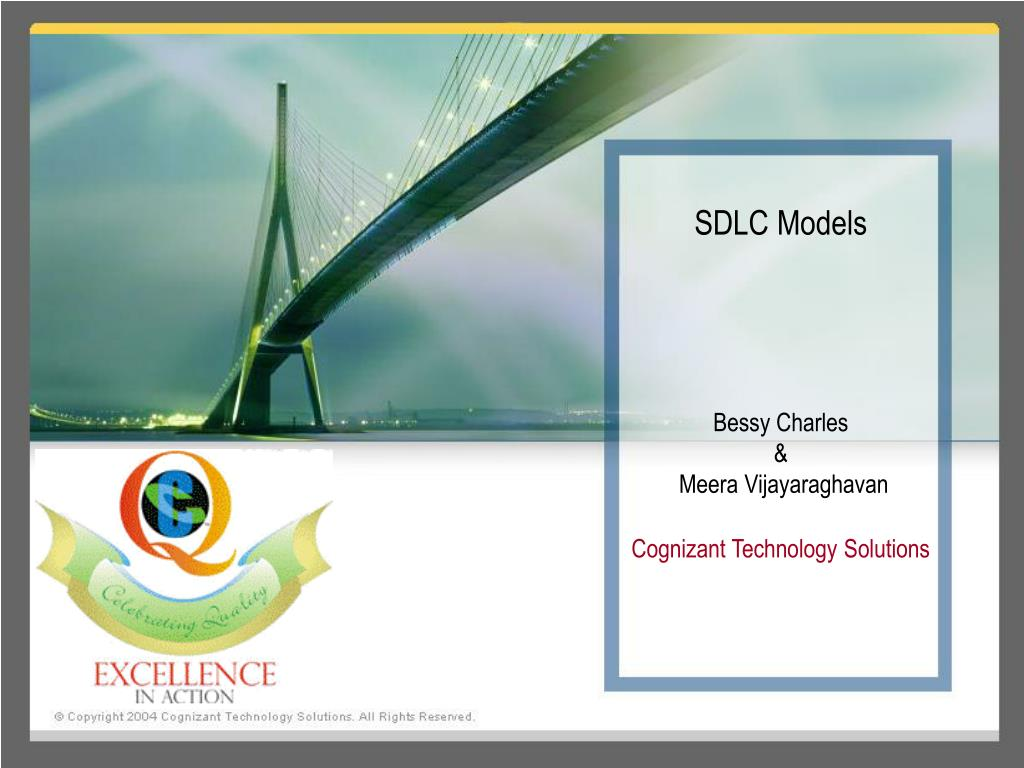 sdlc models bessy charles meera vijayaraghavan cognizant technology solutions l.
