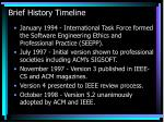 brief history timeline