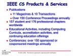 ieee cs products services