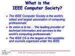 what is the ieee computer society