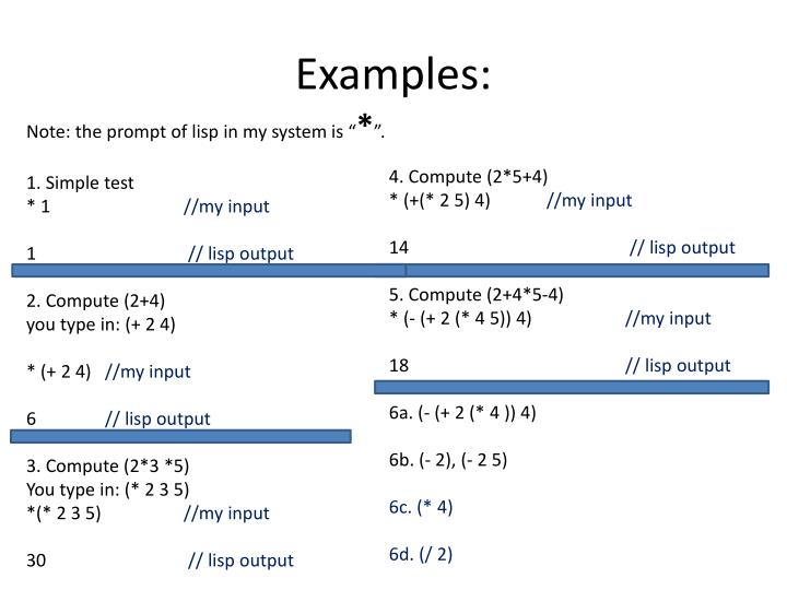 PPT - Common lisp PowerPoint Presentation - ID:421994