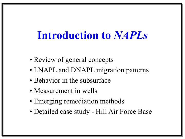 Introduction to napls