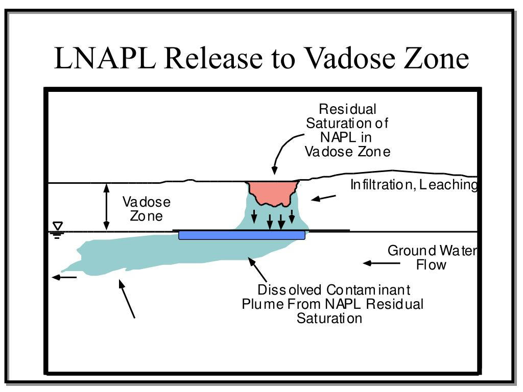 LNAPL Release to Vadose Zone
