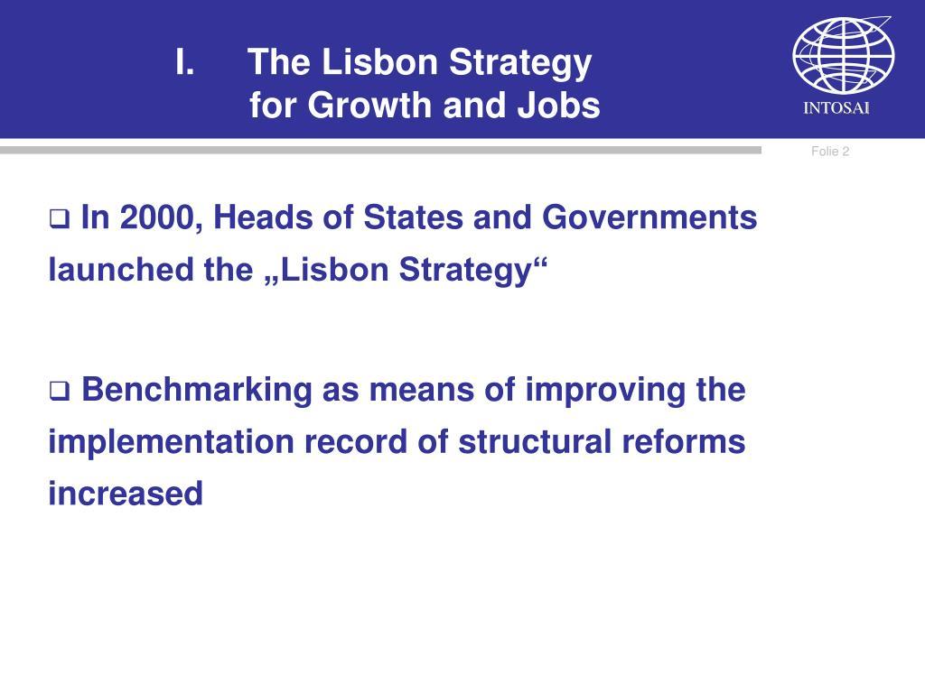 The Lisbon Strategy