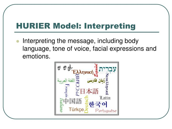 hurier model
