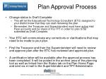 plan approval process