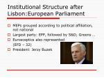 institutional structure after lisbon european parliament1