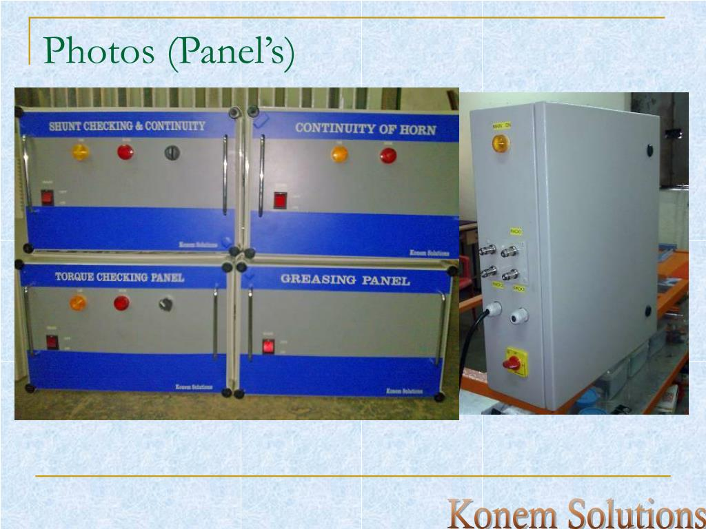 Photos (Panel's)