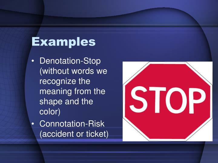Ppt Connotation And Denotation Powerpoint Presentation Id422334