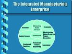 the integrated manufacturing enterprise