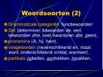 woordsoorten 2