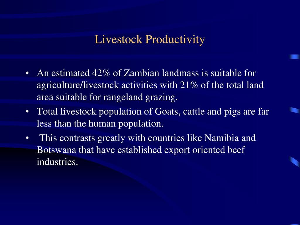 Livestock Productivity