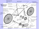 manufacturing of a bicycle