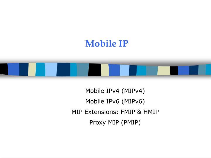 mobile ip n.