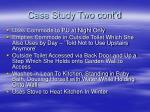 case study two cont d