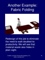 another example fabric folding