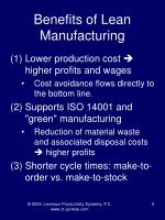 benefits of lean manufacturing5