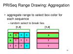 priseq range drawing aggregation