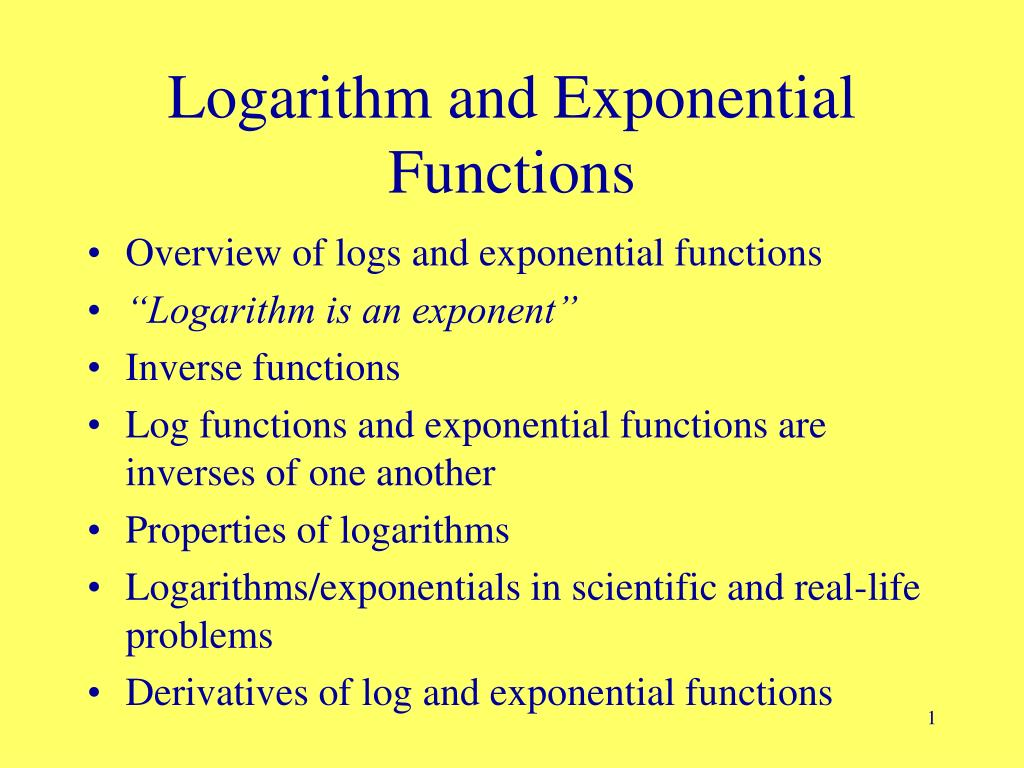 application of logarithms in real life Using logarithms in the real world is that the practical applications of logarithm in real life pardon me this is part of our project and i'm having trouble.