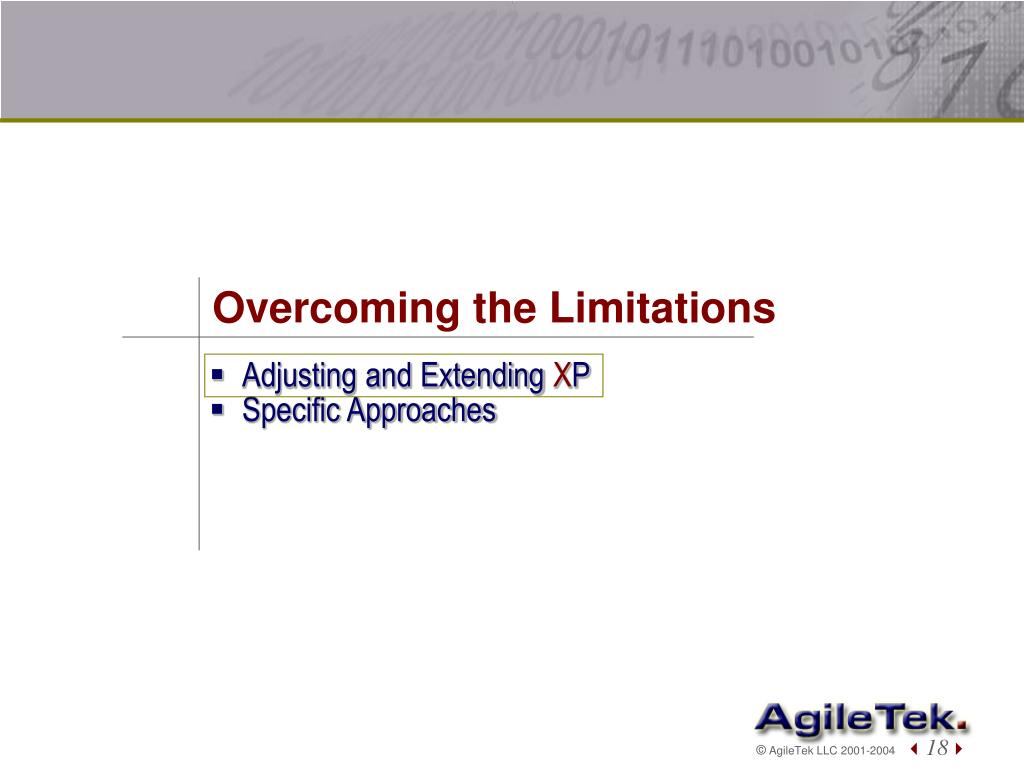 Overcoming the Limitations