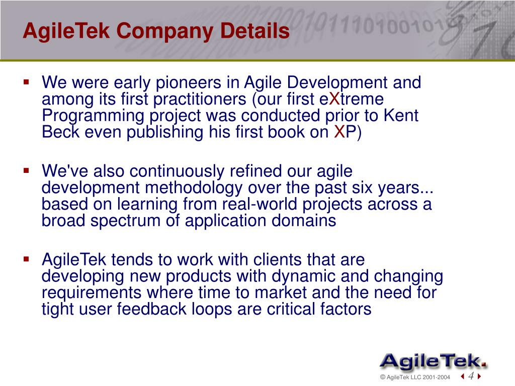 AgileTek Company Details